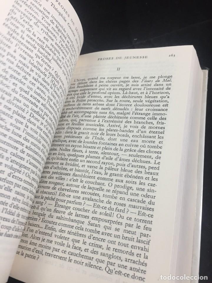Libros de segunda mano: STHEPANE MALLARMÉ OEUVRES COMPLETES, LA PLEIADE, 1.659 PAGS. 1979 - Foto 8 - 245762330
