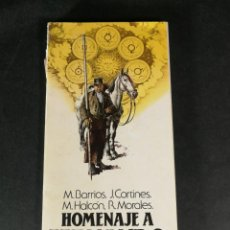Libros de segunda mano: M. BARRIOS J. CORTINES M. HALCÓN R. MORALES HOMENAJE A FERNANDO VILLALÓN 1982. Lote 245771180