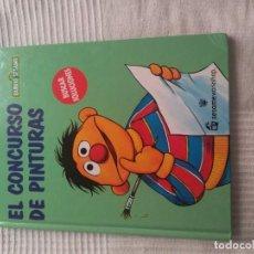 Libros de segunda mano: M-13 LIBRO BARRIO SESAMO EL CONCURSO DE PINTURAS VOL 9. Lote 245931555