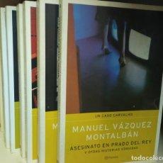 Libros de segunda mano: UN CASO CARVALHO 10 VOL. Lote 245951965