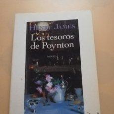 Libros de segunda mano: LOS TESOROS DE POYNTON. HENRY JAMES. BIBLIOTECA DE BOLSILLO. 1ª EDICION 1995. PAG 283.. Lote 246070740