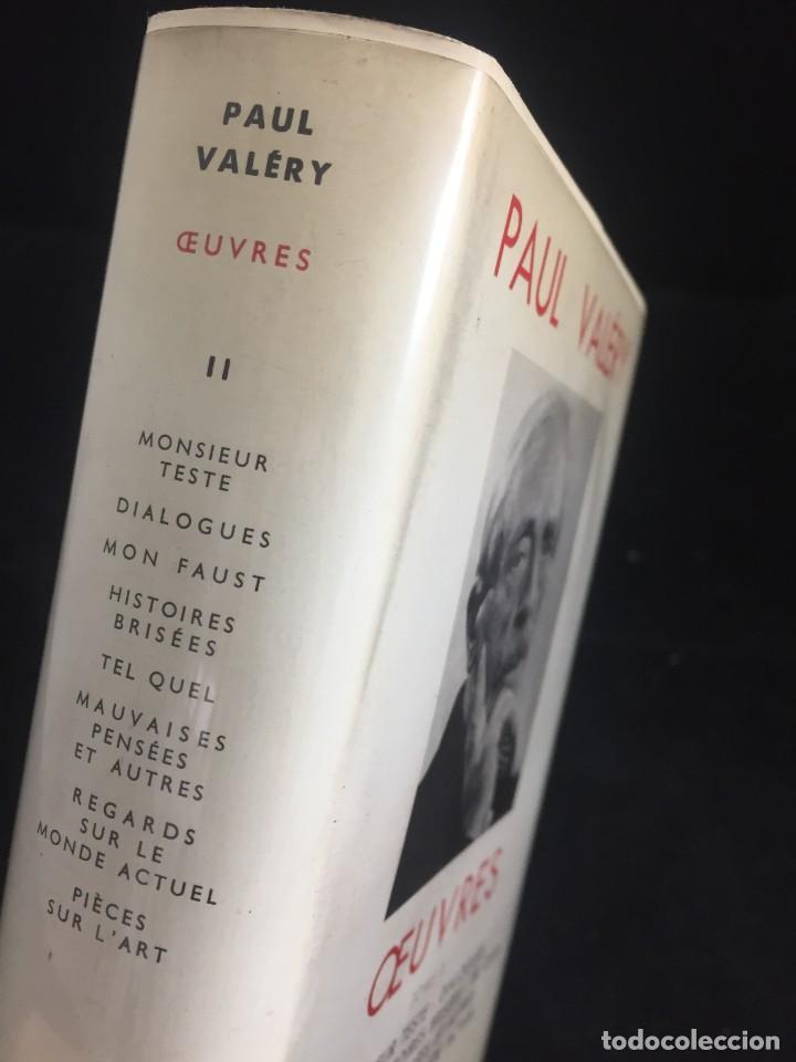 Libros de segunda mano: Œuvres Paul Valery. Bibliothèque de la Pléiade 1960. Tomo II - Foto 9 - 267175044