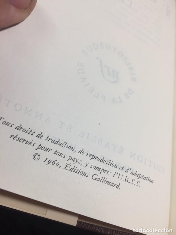 Libros de segunda mano: Œuvres Paul Valery. Bibliothèque de la Pléiade 1960. Tomo II - Foto 11 - 267175044
