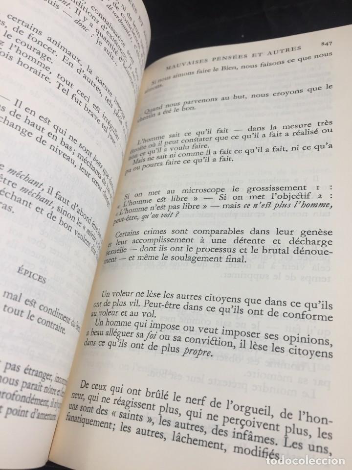Libros de segunda mano: Œuvres Paul Valery. Bibliothèque de la Pléiade 1960. Tomo II - Foto 2 - 267175044