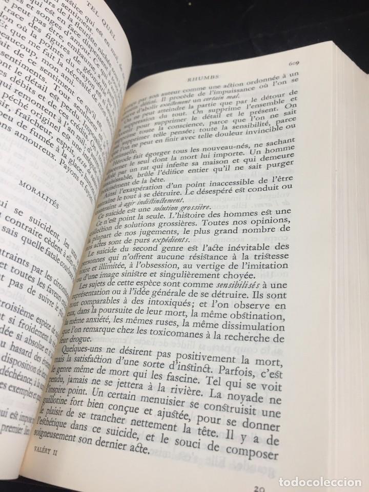 Libros de segunda mano: Œuvres Paul Valery. Bibliothèque de la Pléiade 1960. Tomo II - Foto 4 - 267175044