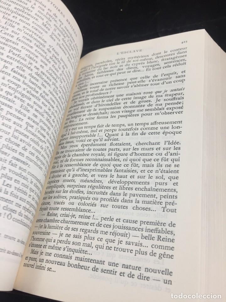 Libros de segunda mano: Œuvres Paul Valery. Bibliothèque de la Pléiade 1960. Tomo II - Foto 5 - 267175044