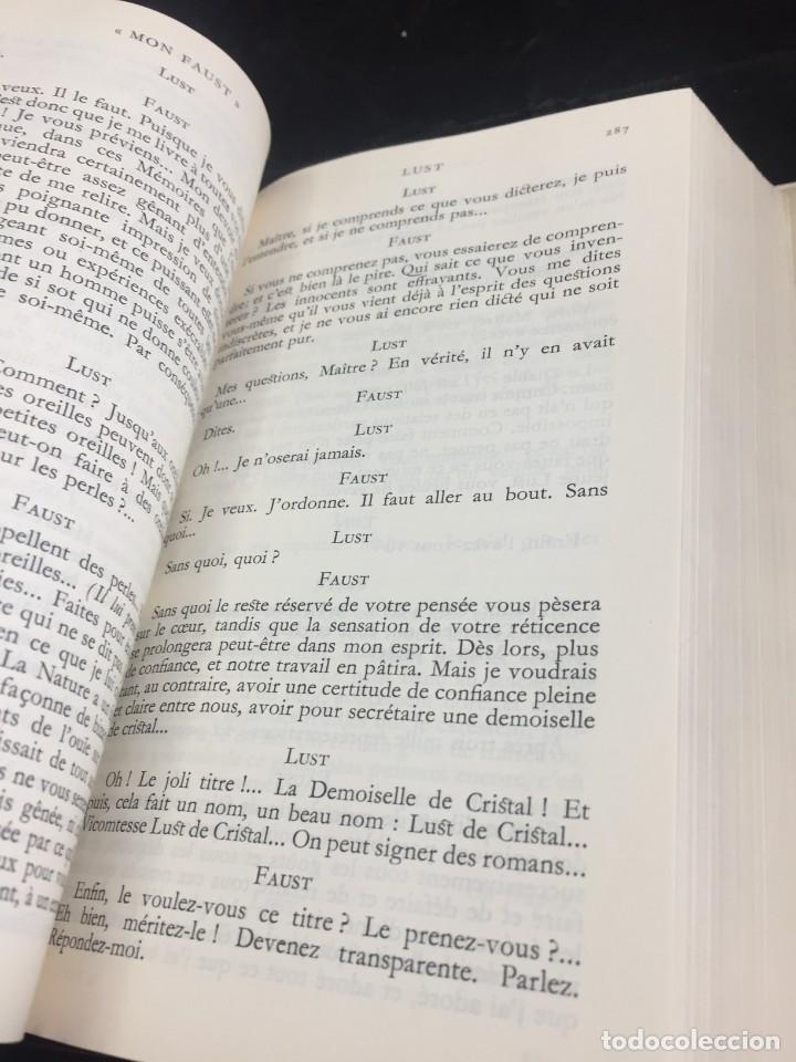 Libros de segunda mano: Œuvres Paul Valery. Bibliothèque de la Pléiade 1960. Tomo II - Foto 6 - 267175044