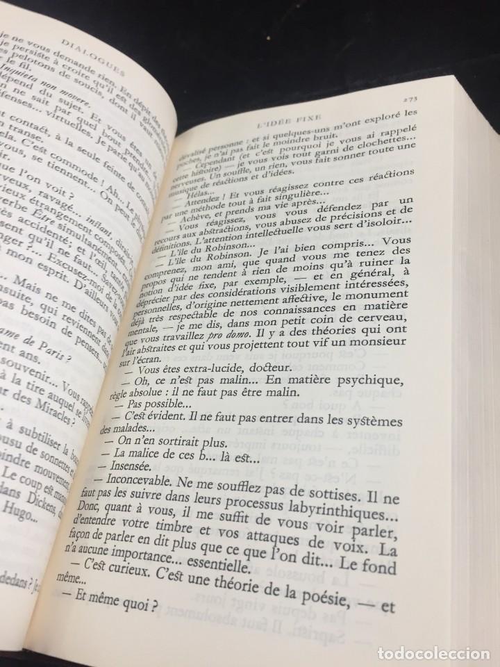 Libros de segunda mano: Œuvres Paul Valery. Bibliothèque de la Pléiade 1960. Tomo II - Foto 7 - 267175044