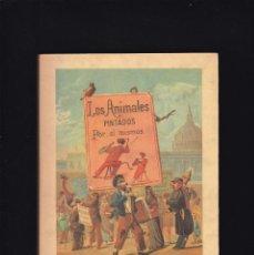 Libros de segunda mano: LOS ANIMALES PINTADOS POR SI MISMOS - V.V.A.A. - JOSÉ J. DE OLAÑETA, EDITOR 1984 / FACSIMIL. Lote 246299545