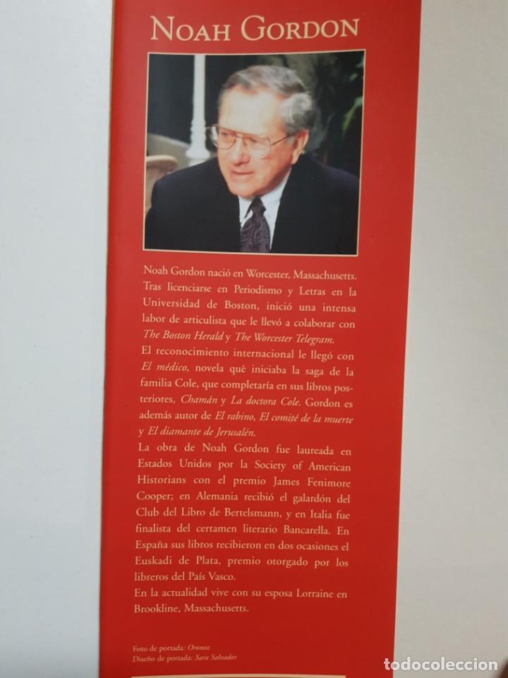 Libros de segunda mano: EL ULTIMO JUDIO. NOAH GORDON. EDICIONES B. 8ª REIMPRESION. 2000 - Foto 4 - 246355160
