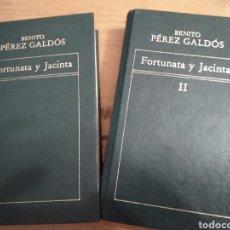Libros de segunda mano: FORTUNATA Y JACINTA, BENITO PÉREZ GALDOS. ORBIS EDICIONES. 1982. Lote 246356310