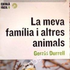 Libros de segunda mano: LIBRO - LA MEVA FAMILIA I ALTRES ANIMALS - DE GERALD DURRELL - CONTIENE DISCO DVD. Lote 246511055