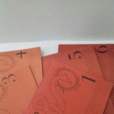 Libros de segunda mano: LOTE SIBILA. REVISTA DE ARTE,MUSICA Y LITERATURA. N. 1,3,4,5 Y 6. (1995-1997). Lote 246891350