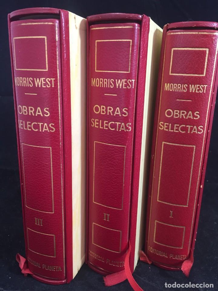 MORRIS WEST OBRAS SELECTAS. PLANETA TOMOS I, II Y III CON ESTUCHE 1ª PRIMERA EDICIÓN 1968/71 (Libros de Segunda Mano (posteriores a 1936) - Literatura - Narrativa - Otros)