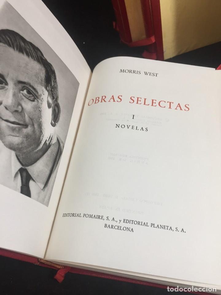 Libros de segunda mano: Morris West OBRAS SELECTAS. PLANETA TOMOS I, II y III CON ESTUCHE 1ª PRIMERA EDICIÓN 1968/71 - Foto 3 - 247061300