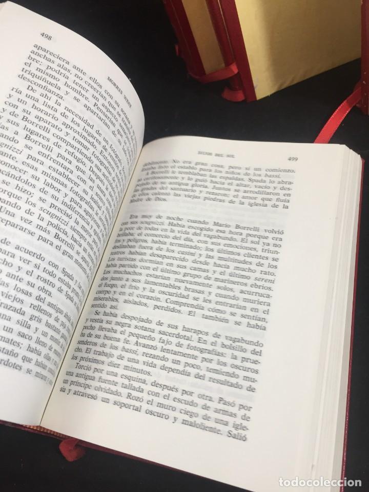 Libros de segunda mano: Morris West OBRAS SELECTAS. PLANETA TOMOS I, II y III CON ESTUCHE 1ª PRIMERA EDICIÓN 1968/71 - Foto 8 - 247061300