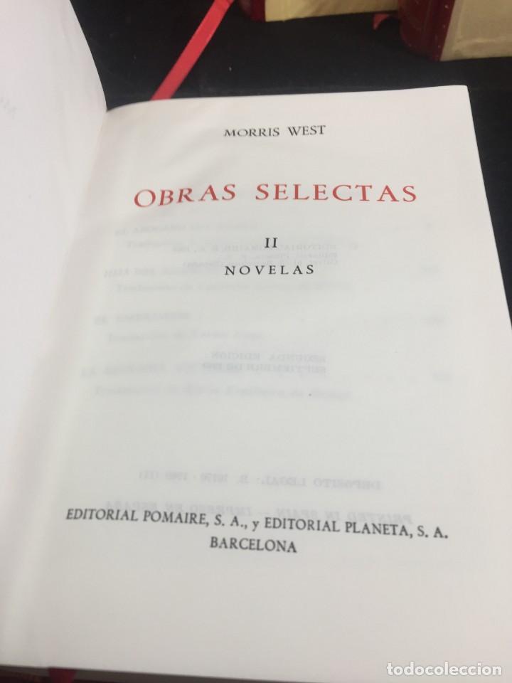 Libros de segunda mano: Morris West OBRAS SELECTAS. PLANETA TOMOS I, II y III CON ESTUCHE 1ª PRIMERA EDICIÓN 1968/71 - Foto 10 - 247061300