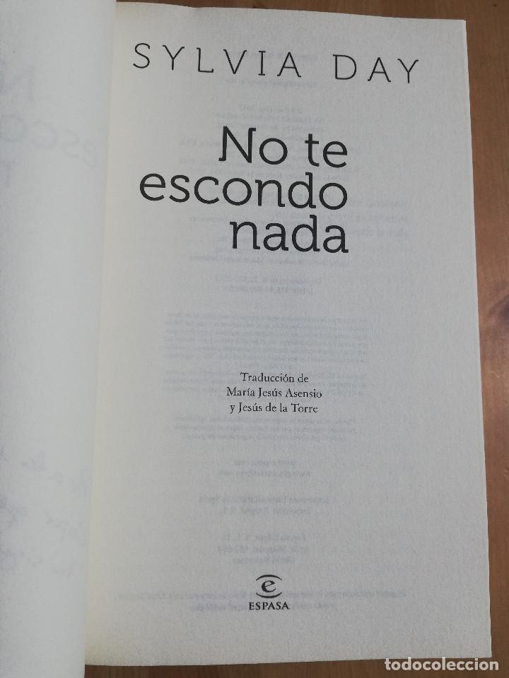 Libros de segunda mano: NO TE ESCONDO NADA (SYLVIA DAY) - Foto 2 - 247246750