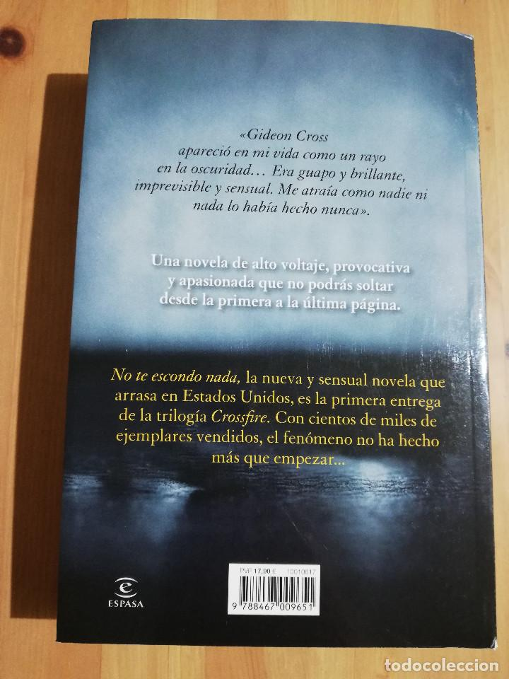 Libros de segunda mano: NO TE ESCONDO NADA (SYLVIA DAY) - Foto 3 - 247246750