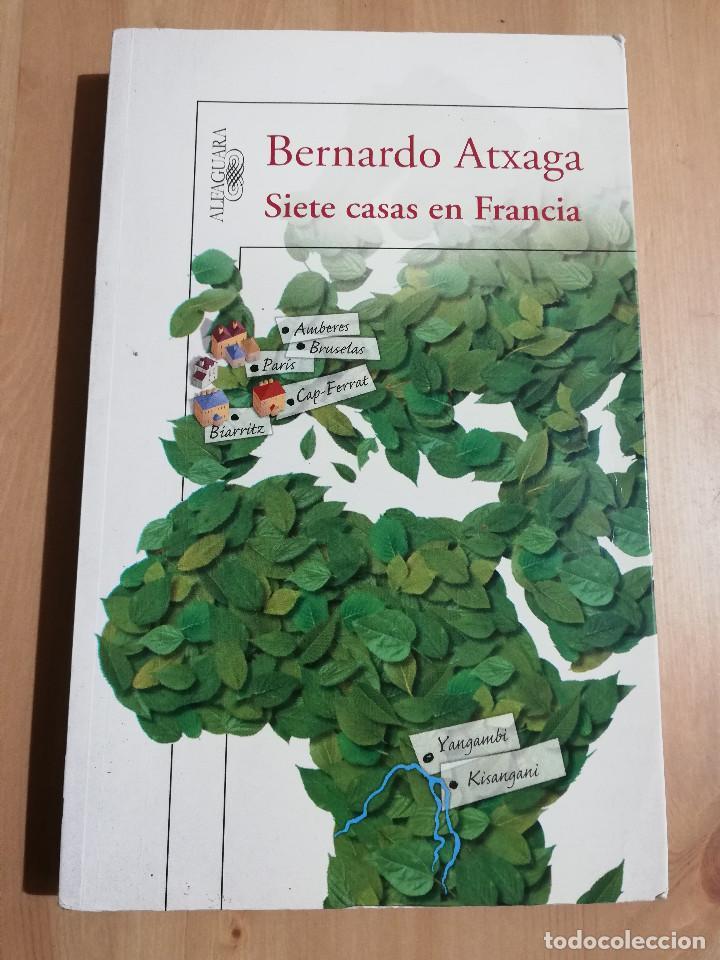 SIETE CASAS EN FRANCIA (BERNARDO ATXAGA) (Libros de Segunda Mano (posteriores a 1936) - Literatura - Narrativa - Otros)