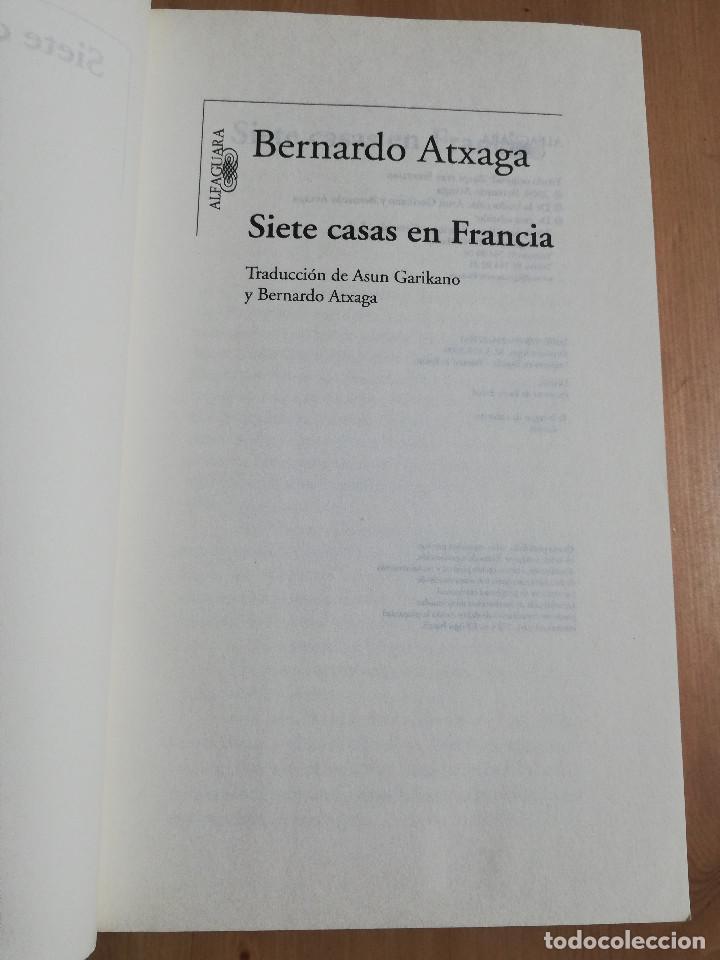 Libros de segunda mano: SIETE CASAS EN FRANCIA (BERNARDO ATXAGA) - Foto 2 - 247246910