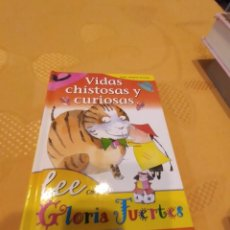Libros de segunda mano: M-23 LIBRO VIDAS CHISTOSAS Y CURIOSAS LEE CON GLORIA FUERTES. Lote 247612455