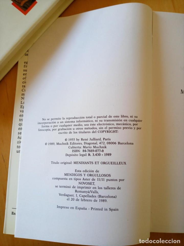 Libros de segunda mano: ALBERT COSSERY MENDIGOS Y ORGULLOSOS - Foto 4 - 247773725