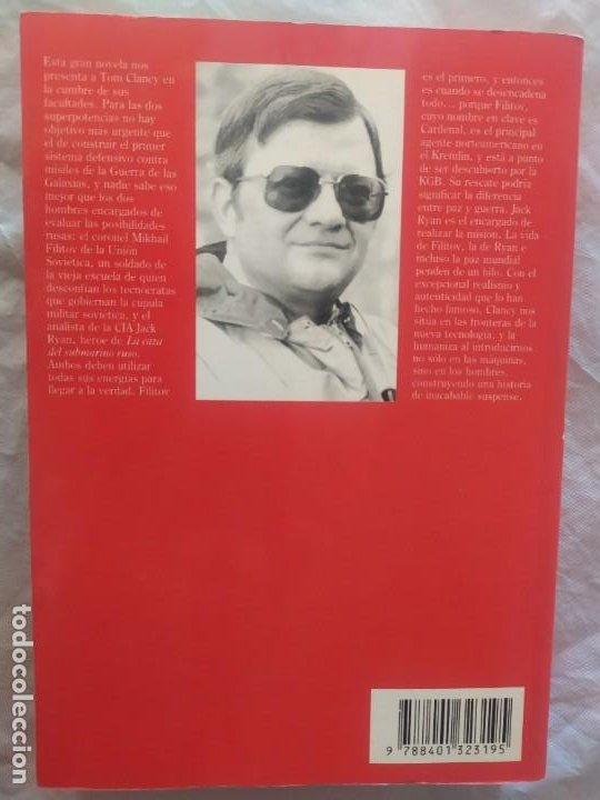 Libros de segunda mano: Tom Clancy (el cardenal del Kremlin) - Foto 2 - 247969095
