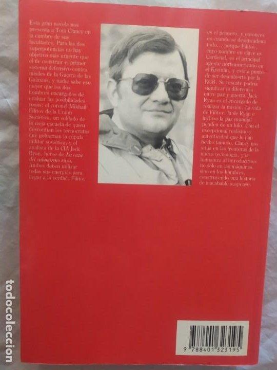 Libros de segunda mano: Tom Clancy (el cardenal del Kremlin) - Foto 3 - 247969095