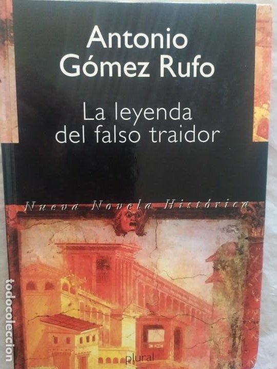 Libros de segunda mano: La leyenda del falso traidor (original) - Foto 2 - 247971415