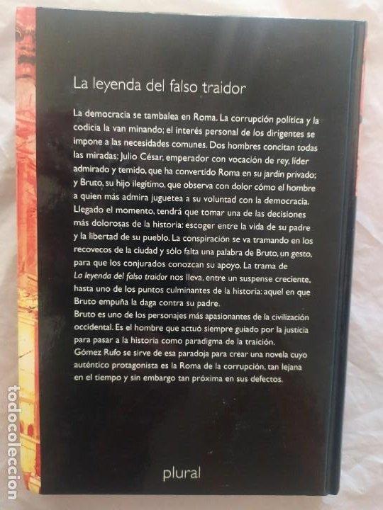 Libros de segunda mano: La leyenda del falso traidor (original) - Foto 3 - 247971415
