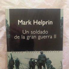 Libros de segunda mano: EL SOLDADO DE LA GRAN GUERRA II. Lote 247973115