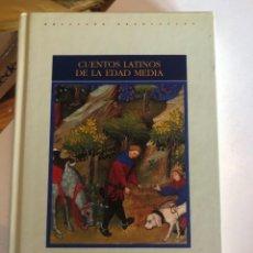 Libros de segunda mano: CUENTOS LATINOS DE LA EDAD MEDIA - VVAA (GREDOS, 2006). Lote 248415545
