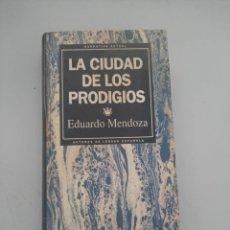 Libros de segunda mano: LA CIUDAD DE LOS PRODIGIOS. Lote 249258760