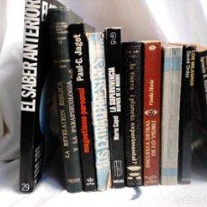 Libros de segunda mano: LOTE 10 LIBROS DE PARAPSICOLOGÍA Y OVNIS.. Lote 250128470