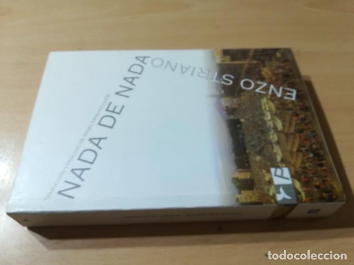 NADA DE NADA / ENZO STRIANO / PARTENOPE / CONS007 (Libros de Segunda Mano (posteriores a 1936) - Literatura - Narrativa - Otros)