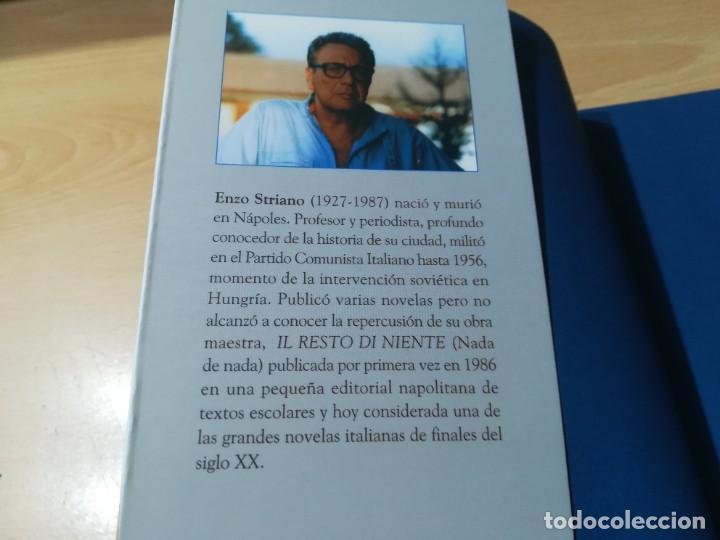 Libros de segunda mano: NADA DE NADA / ENZO STRIANO / PARTENOPE / CONS007 - Foto 4 - 251402210