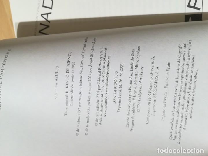 Libros de segunda mano: NADA DE NADA / ENZO STRIANO / PARTENOPE / CONS007 - Foto 6 - 251402210