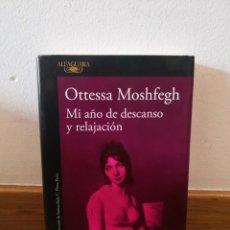 Livros em segunda mão: OTTESSA MOSHFEGH MI AÑO DE DESCANSO Y RELAJACIÓN. Lote 251673375