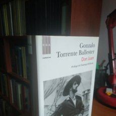 Libros de segunda mano: DON JUAN. GONZALO TORRENTE BALLESTER. Lote 251875330
