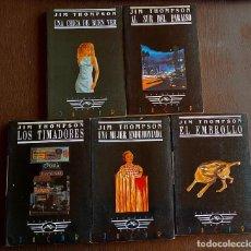Livres d'occasion: JIM THOMPSON - AL SUR DEL PARAÍSO, UNA CHICA DE BUEN VER, LOS TIMADORES, UNA MUJER ENDEMONIADA,. Lote 252625590