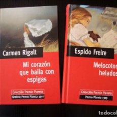 Libros de segunda mano: LOTE DE DOS LIBROS COLECCIÓN PREMIO PLANETA.. Lote 252737175