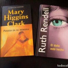 Libros de segunda mano: LOTE DE DOS LIBROS COLECCIÓN DE SUSPENSE. Lote 252737445