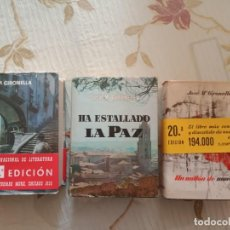 Libros de segunda mano: JOSE MARIA GIRONELLA - TRILOGIA SOBRE LA GUERRA CIVIL. Lote 253302930