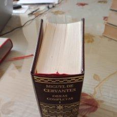 Libros de segunda mano: CERVANTES - OBRAS COMPLETAS VOL I. Lote 253316085