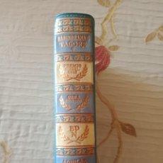 Libros de segunda mano: RABINDRANAZ TAGORE. OBRA ESCOGIDA. Lote 253359645