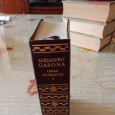 Libros de segunda mano: ALEJANDRO CASONA. OBRAS COMPLETAS VOL I. Lote 253360655