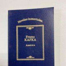 Libri di seconda mano: AMERICA. FRANZ KAFKA. NOVELAS INMORTALES. ED. SARPE. MADRID, 1984. PAGS: 221. Lote 253407105
