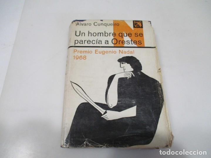 ÁLVARO CUNQUEIRO UN HOMBRE QUE SE PARECÍA A ORESTES W6448 (Libros de Segunda Mano (posteriores a 1936) - Literatura - Narrativa - Otros)
