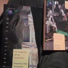 Libros de segunda mano: 2 LIBROS DE PARARELO VER DE BRUÑO: LA VENGANZA DE LOS MUSEILINES Y EL MISTERIO VELAZQUEZ. Lote 253922370
